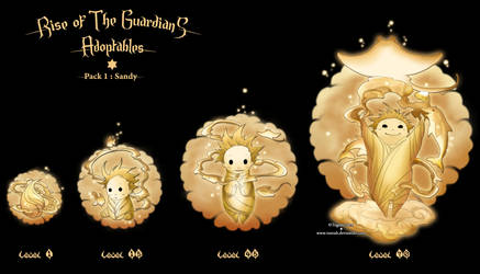 ROTG - Adoptables : Sandy Pack