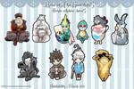 ROTG - Cellphone charms