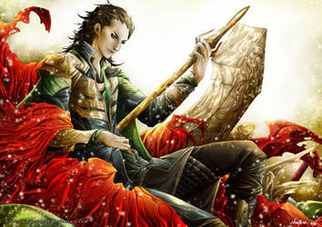 Loki Laufeyson by VanRah