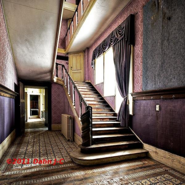 Pink stairs 2 by ZerberuZ
