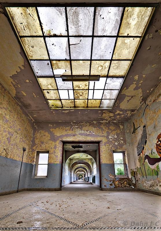 School corridor by ZerberuZ