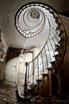 L'escalier des chevaliers by ZerberuZ