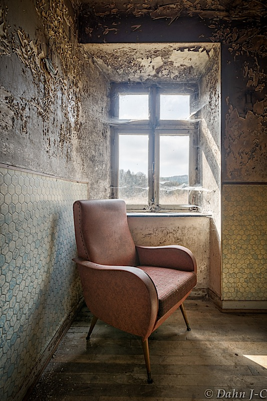 armchair and the window by ZerberuZ