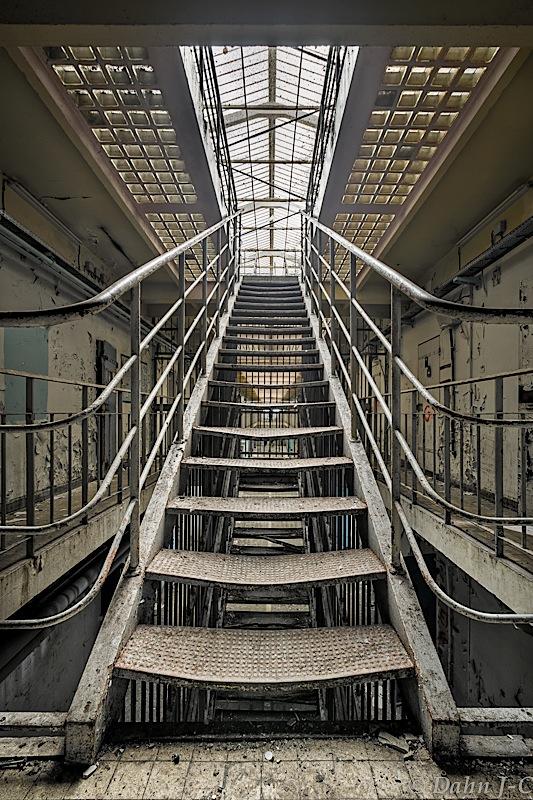 Stairs To Light by ZerberuZ