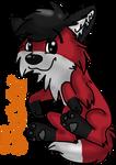 Jaxx Fursuit Badge