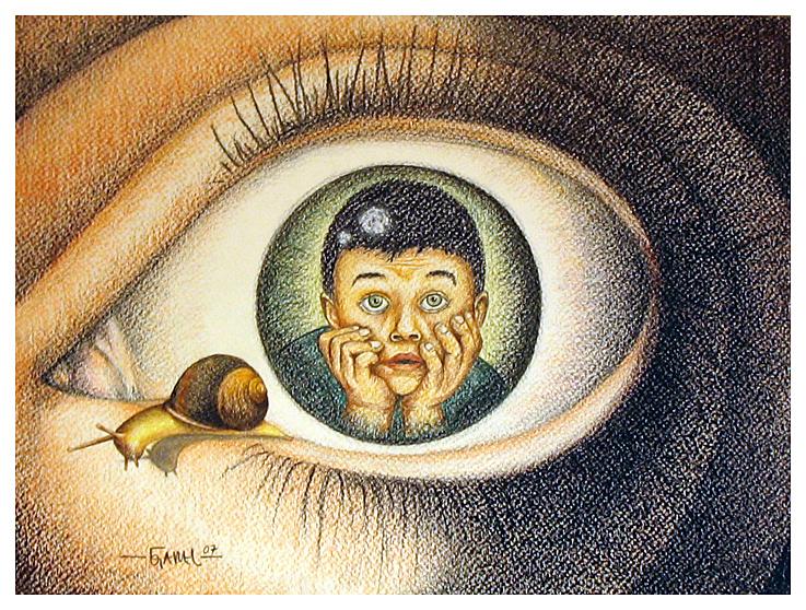 O Menino do Olho by Jose-Garel-Alvoeiro