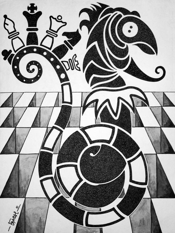 Checkmate by Jose-Garel-Alvoeiro