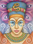 Nefertiti by Jose-Garel-Alvoeiro