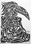 Sketchbook 19 Hornbill 2