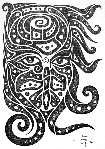 Sketchbook 20 Medusa by Jose-Garel-Alvoeiro