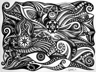 Black And White Dreams by Jose-Garel-Alvoeiro