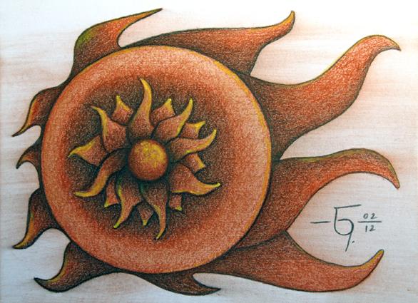 Sketchbook 21 Supernova by Jose-Garel-Alvoeiro