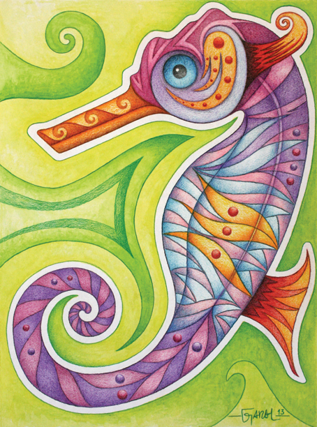 Hippocampus by Jose-Garel-Alvoeiro