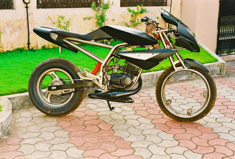 Stingray Hub Less Wheel Motorcycle By Arcanelife On DeviantArt