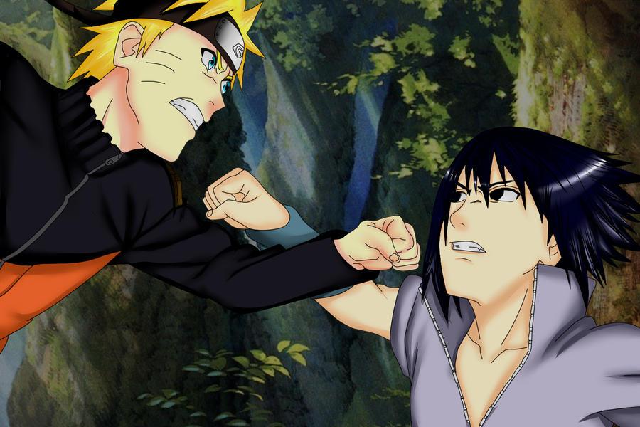 Final Fight Naruto And Sasuke By DreamEatingYuu On DeviantArt