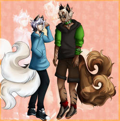 [AT] Tsnag and Yuuta by DreamEatingYuu