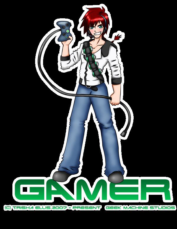 Video gamer boy by chibianimeelf on deviantart - Anime gamer boy ...
