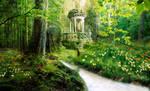 Where Dreams are by Auriferous-art