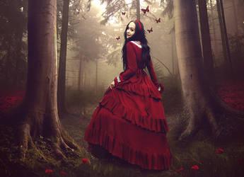 little red by Auriferous-art