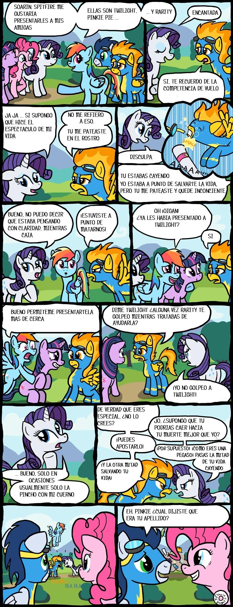 [Comic] MLP cómic en español