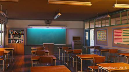 Classroom by fuyunokawa