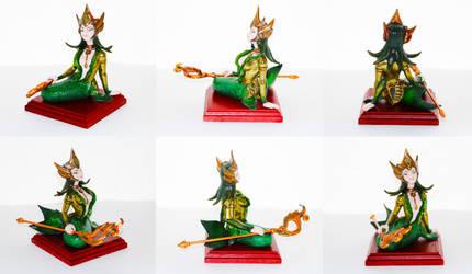 Nami The Tidaecaller figure by Lanasu57