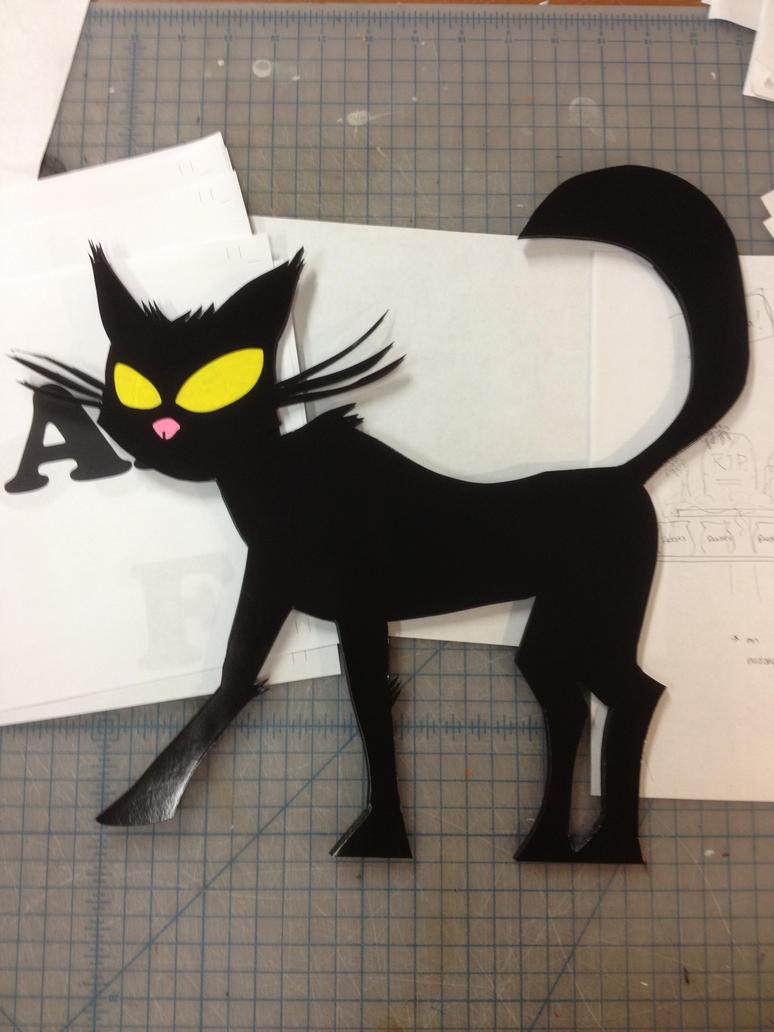 El gato negro by badsociologist on deviantart - El gato negro decoracion ...