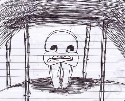 Mushroom-man by vincentacent