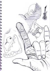 Random doodle by vincentacent