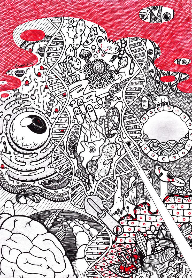 Surreal Biology by vincentacent