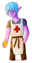 Flame by Pewcia
