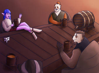 Time at Pandaria by Pewcia