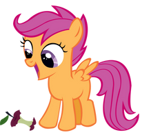 Scootaloo is way too excited by speedingturtle