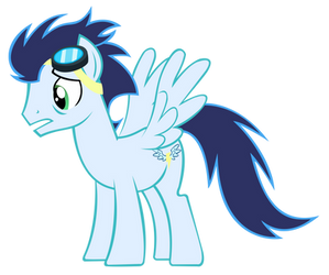 Worried Soarin Vector by speedingturtle