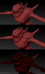 Demon model in progression