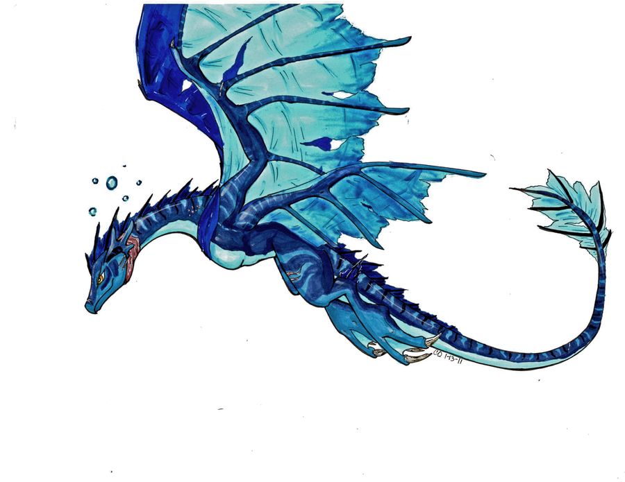 Water Dragon By TakenFlyght On DeviantArt