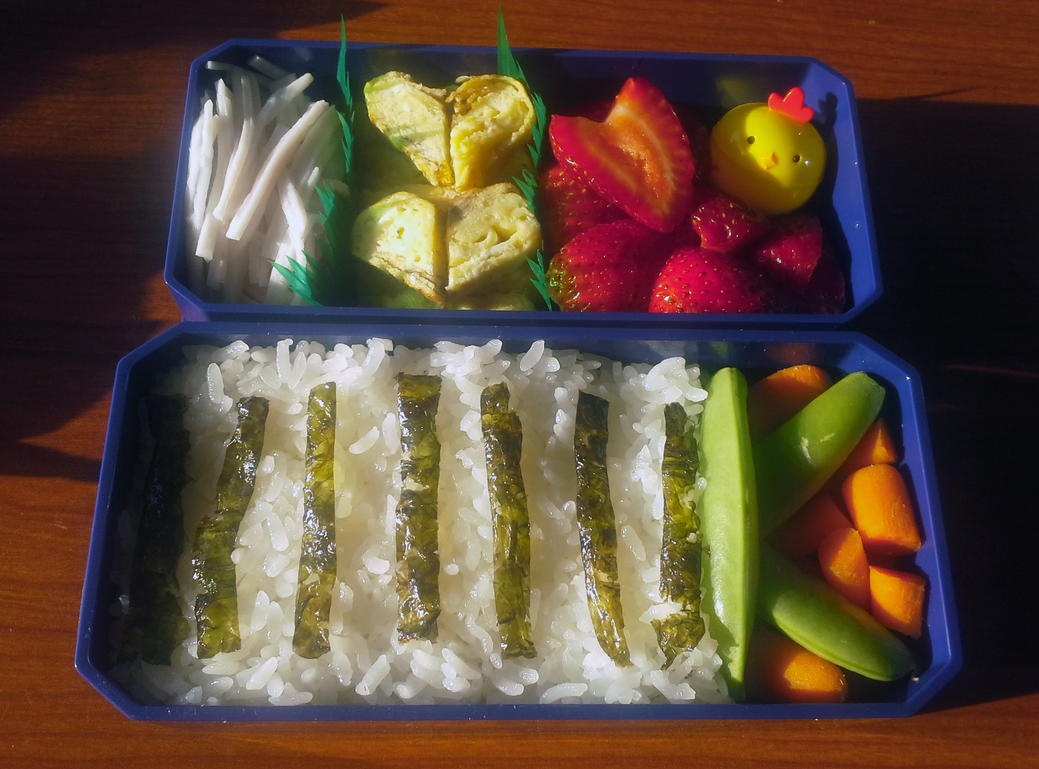 Salad Bento 2 by TakenFlyght