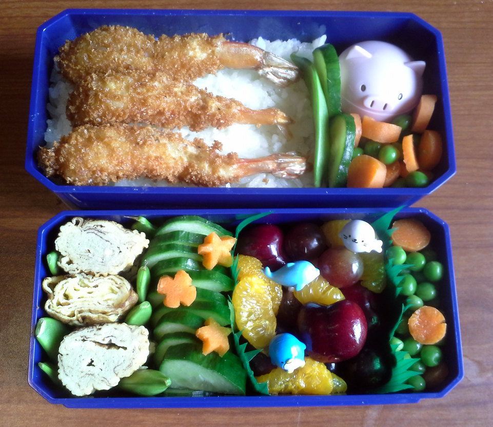 Shrimp Tempura Bento by TakenFlyght