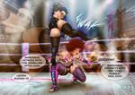Sasha vs Ijeoma - Rematch part 2 by theblackSIGMA
