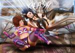 Sasha vs Ijeoma - Rematch part 3 by theblackSIGMA
