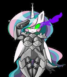 Sombra Commander Celestia by HypnoDreamSearcher