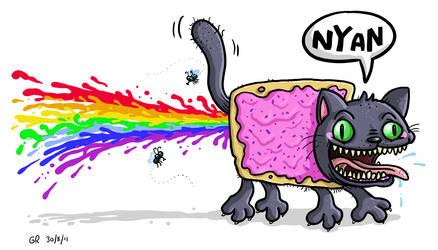 Nyan Shat by Splapp-me-do