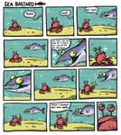Sea Bastard #001 - Pencil by Splapp-me-do
