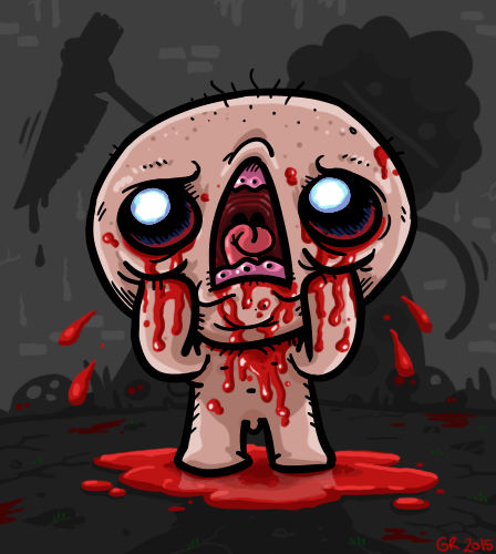 The Binding Of Isaac By Splapp-me-do On DeviantArt