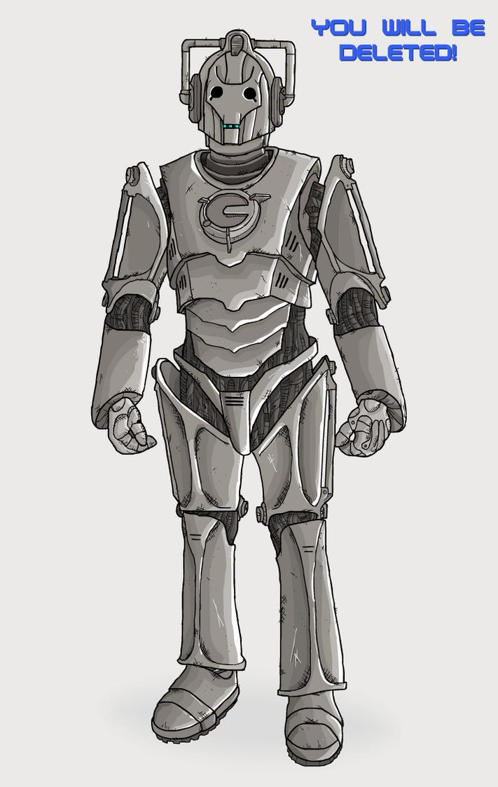 Evolution Of The Cybermen Cyberman by Splapp-me-...