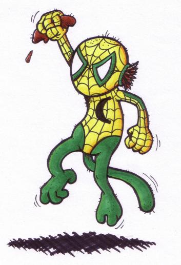 Spidermonkey by Splapp-me-do
