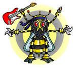 Robot Ninja Hornet