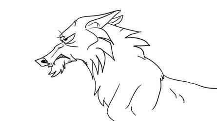 Grumpy Wolfdog