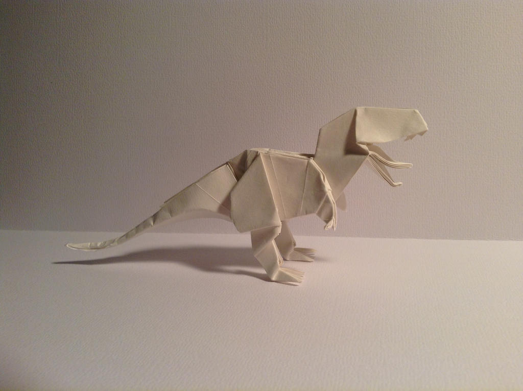 how to make an origami t rex 28 images origami