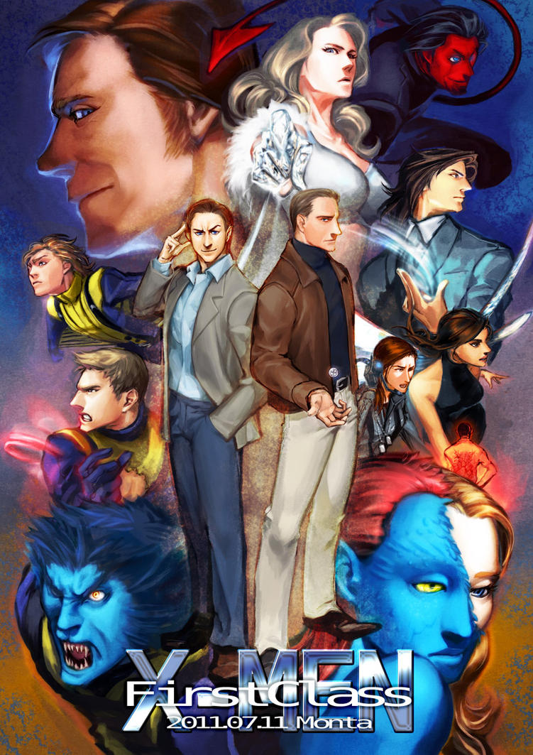 X-MEN FirstClass by daimon560